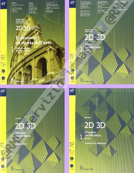 2D 3D 1 (4t) +eB